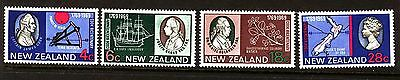 New Zealand 1969 Captain Cook Complete  set - MH