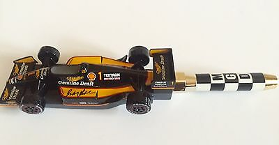 Rare Miller Genuine Draft #1 Indy 500 Beer Tap Handle Autographed by Bobby Rahal
