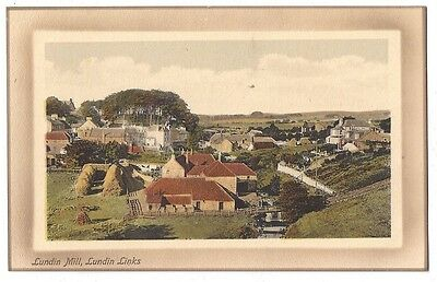 LUNDIN LINKS Lundin Mill, Old Postcard by Valentine, Unused