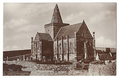 ST MONANS Church, Fife, RP Postcard Unused