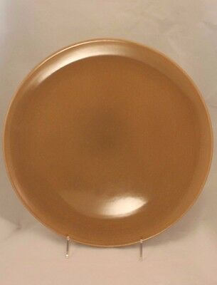 """Russel Wright Iroquois Casual China Nutmeg 13¼"""" Round Chop Plate - 2 Available"""