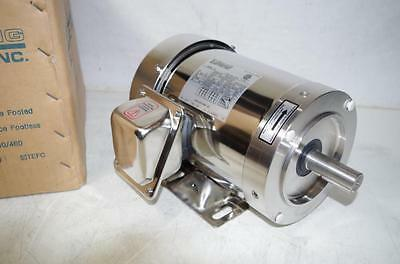 Sterling 2Hp Stainless Steel Motor  #xbo024Pha  230/460Vac  60Hz.  56C Mount