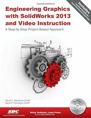 Engineering Graphics With Solidworks 2013 and Video Instruction Sdc Pub Pap DVD