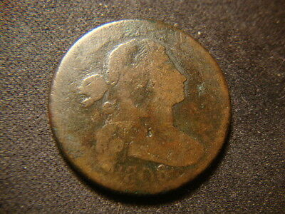 1806 Full Dated draped Bust Large Cent Decent Devices PC