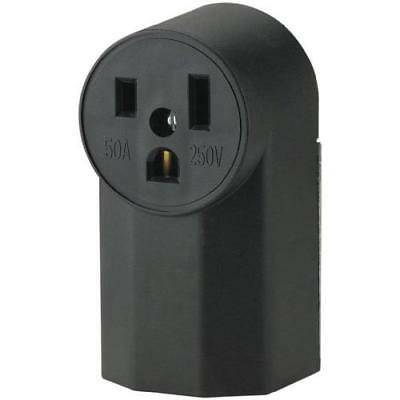 The Eaton WD1252 2-Pole 3-Wire 50-Amp 125-Volt Surface Mount Power Receptacle,