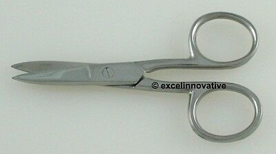 "96 Nail Scissors 3.5"" Nail Care Implements Dermal"