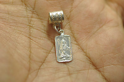 New Sterling Silver 925 European Bead Charm Hindu Lord Shiva Snake OM Jewelry