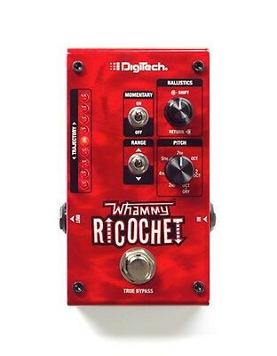 NEW! Digitech Whammy Ricochet pitch shift pedal