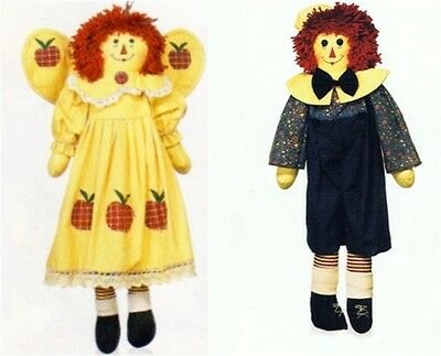 """22"""" Raggedy Ann and Andy Set of 2"""