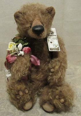 "One Of A Kind Lefelike Teddy Bear Adorable ""lynne"" Artist Fabian Song 15"""