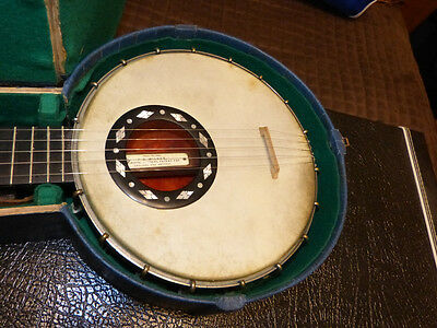 Antique FC Wilkes Patent G Banjo with original fittings, good antique condition