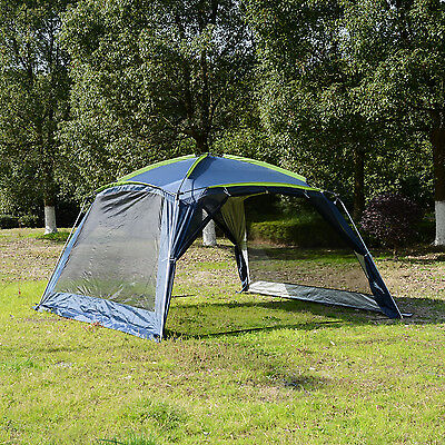 5-8 Persons Camping Hiking Tent Pop Up Shelter Mesh Canopy Portable Outdoor