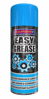 2 x Easy Grease Spray Lubricant Synthetic Oil Waterproof Rust Protection 200ml