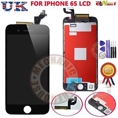 For Apple iPhone 6S LCD Display Touch Screen Digitizer Replacement Unit Black UK