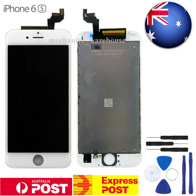 """White Retina LCD Display Touch Screen Digitizer Lens Assembly for iPhone 6s 4.7"""""""