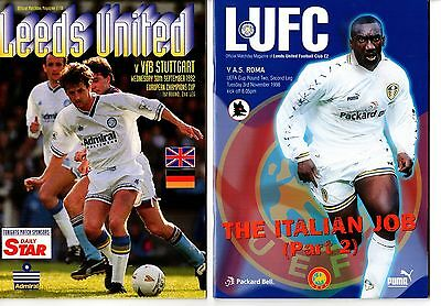 1998-1999 Leeds United v AS Roma POST FREE