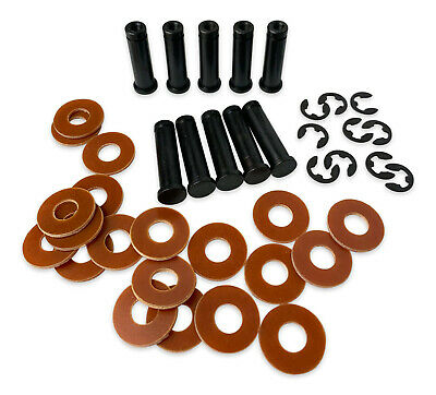 10 x 32mm TATTOO Coil Cores, E-clips and 20x Washers - UK 1018 Steel
