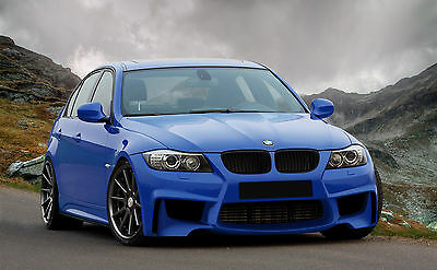 BMW E90 1M style LCI front bumper body kit not m3 msport