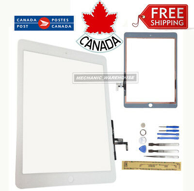 Replacement Glass Digitizer Touch Screen Display White For iPad 5 Air 1st Gen CA