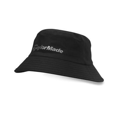 TaylorMade Golf Storm Water Resistant Bucket Hat (Black)