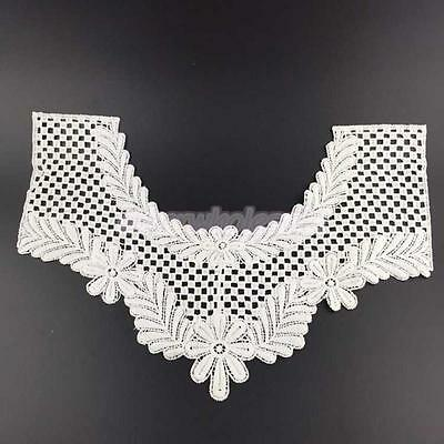 Faux Col Dentelle Blanc Collar Couture Collier Mercerie Col Amovible Forme U