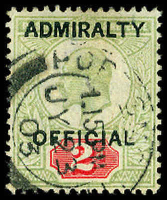 GREAT BRITAIN O75  Used (ID # 64860)