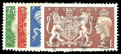 GREAT BRITAIN 286-89  Used (ID # 76192)