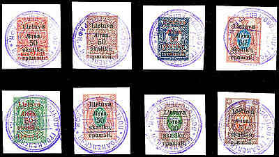 SOUTH LITHUANIA L1-8  Used (ID # 83042)- L
