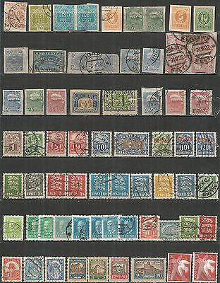 Estonia , nice collections old stamps