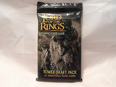 Lord Of The Rings Tcg Tower Draft Booster Pack Of 29 Cards