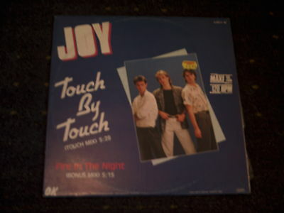 """Joy-Touch By Touch- 12"""" Single"""