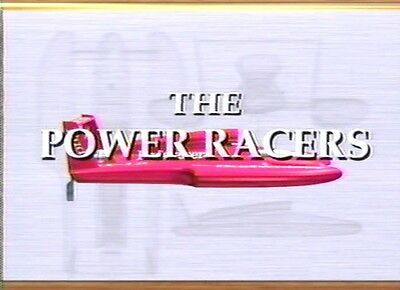 Unlimited Hydroplane 1991 Tri-Ciities Race & Documentary The Power Racers DVD