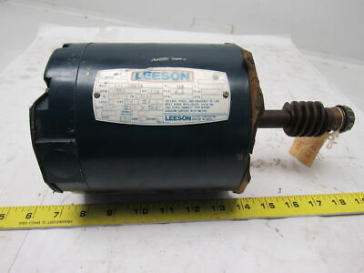 Leeson Electric C4S17NZ1A 1/3HP 1PH 115/230V 1725RPM Electric Motor
