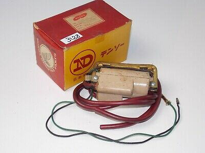 Nos Honda 1959 Benly Supersport Cb92 Dual Ignition Nippon Denso Red Racing Coil