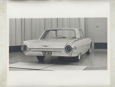1961 Ford Thunderbird Hardtop Styling Dept. ORIGINAL Factory Photograph ww5550