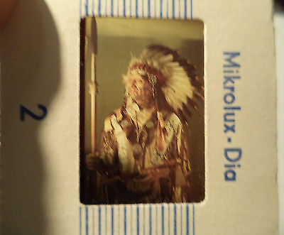 Dia-Serie Indianer-Museum, Serie A, 10x Mikrolux, Karl May, Winnetou, DDR GDR