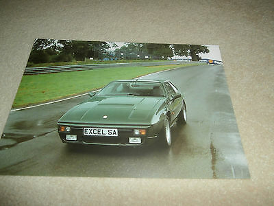 LOTUS 1988 Excel SA.Leaflet Brochure.Nr,MINT Uncirculated condition