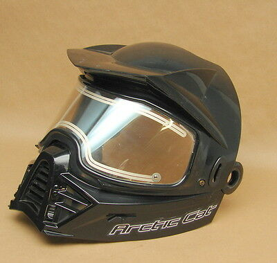 Vintage New NOS Arctic Cat Snowmobile Helmet Heated Visor Face Guard R-7