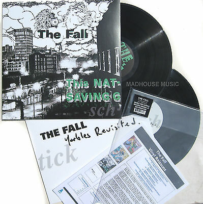 The FALL LP x 2 The Nation's Saving Grace EXPANDED Remastered 2015 DOUBLE Vinyl