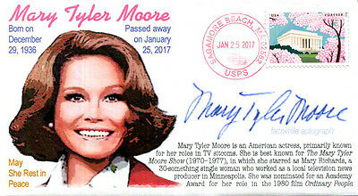 COVERSCAPE computer designed Mary Tyler Moore Memorial event cover
