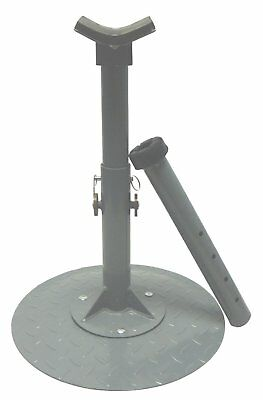 High Country Plastics Farrier Stand Blue for Farming Horse Care Equipment Tool