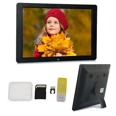 """Allwinner C100 15""""inch LED Digital Photo Picture Frame Movie Player + 8GB Card"""