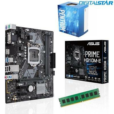 Intel Core i5 7400 CPU + ASUS Motherboard + 16GB DDR4 RAM Desktop PC Upgrade Kit