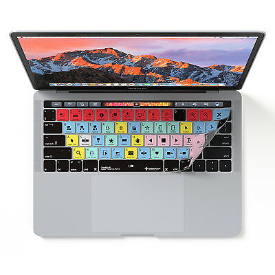 "Final Cut Pro X Keyboard Cover for MacBook Pro Touch Bar 13"" & 15"" Model"