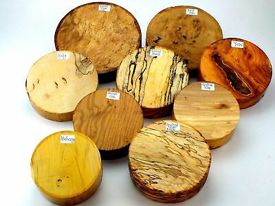 Premium Wood turning bowl blanks gift selection box.  Mixed sizes and species