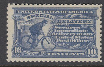 UNITED STATES OF AMERICA:1917 SPECIAL DELIVERY 10c ultramarine Scott #E11 mint