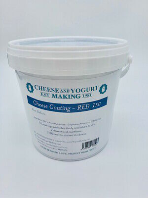 Cheese coating - red 1kg tub.
