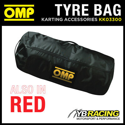 Kk03300 Omp Kart Tyre Storage & Carry Bag Waterproof! Holds 4 Kart Tyres