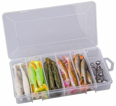 Savage Gear Fat Minnow T-Tail Kit 36Pc - 50376