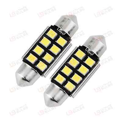Ford Fiesta Mk6 Mk 6 ST LED Number Plate Lights - Bright White LED SMD Canbus